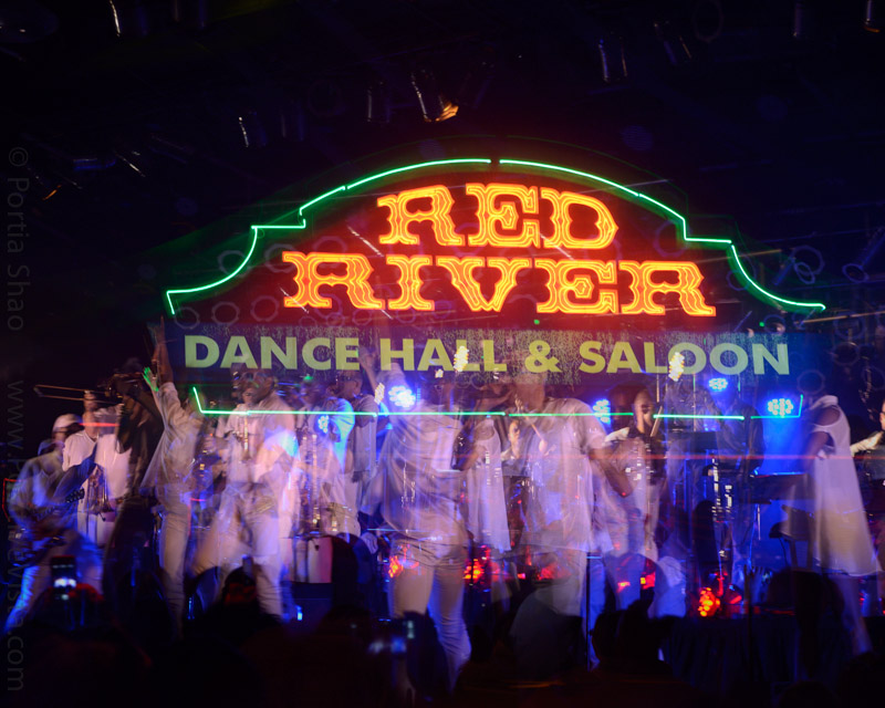 Red River Dance Hall party night